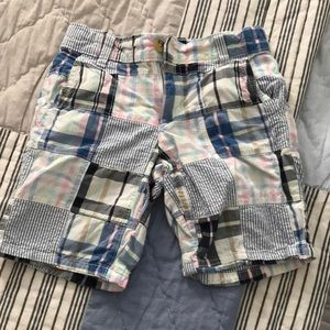 Plaid Janie and Jack shorts
